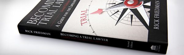Becoming a Trial Lawyer cover