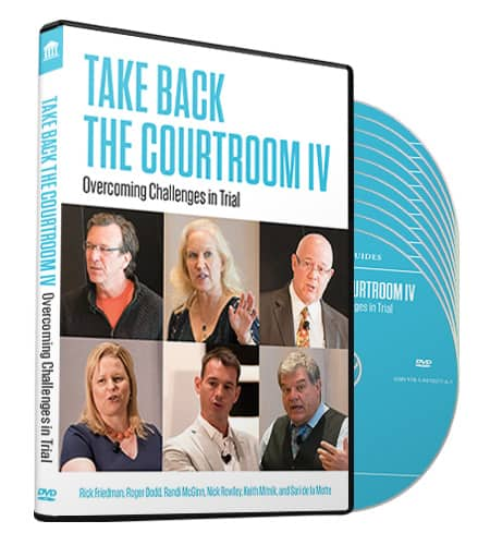 Trial Guides Take Back the Courtroom IV DVD